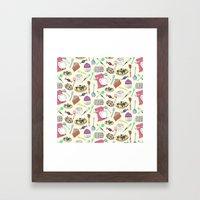 Leah's Kitchen Framed Art Print