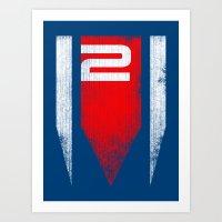 ME2 Grunge Art Print