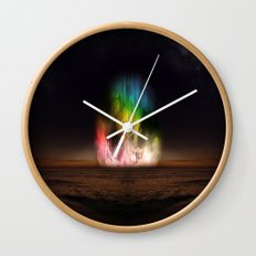 Unfolding Wall Clock