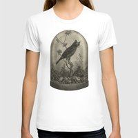 bird T-shirts featuring The Curiosity  by Terry Fan