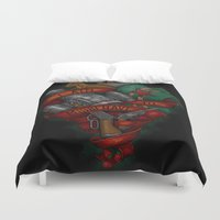 I Aim To Misbehave Duvet Cover