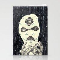 Mask 2 Stationery Cards