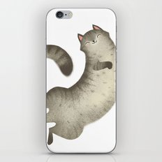 Happy Kitty iPhone & iPod Skin