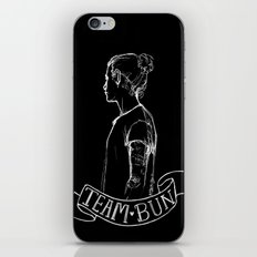 Inverted Team Bun iPhone & iPod Skin