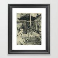 The Lottery Framed Art Print