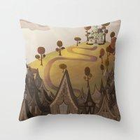 Village Throw Pillow