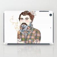 Flock Of Beards iPad Case