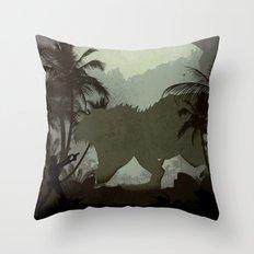 Tomb Raider (1996) Throw Pillow