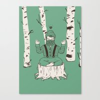 One with everything Canvas Print