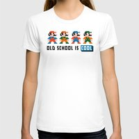 mario T-shirts featuring Mario by PixelPower