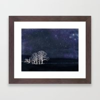 The Fabric Of Space And … Framed Art Print