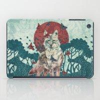 Lady Butterfly iPad Case