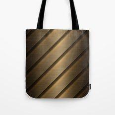 Copper Brass Metal Pipe Tote Bag