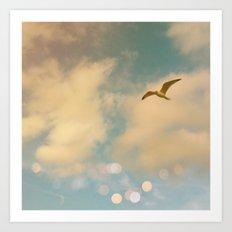 The Lost Gull Art Print