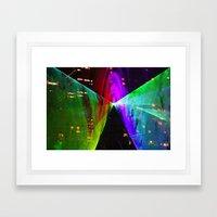 Tunnel of Light Framed Art Print