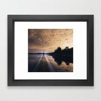 Projecting Light Framed Art Print