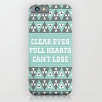 Clear Eyes Full Heart Can't Lose iPhone 6 Slim Case