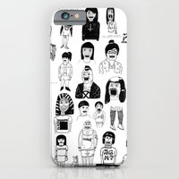 iPhone Cases featuring PEEPZ by WASTED RITA
