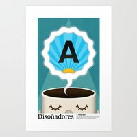 Dreamigners | Typography Art Print