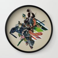 Bull Run Wall Clock