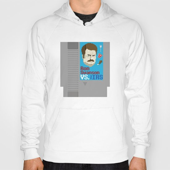 Ron Swanson VS. the IRS Hoody