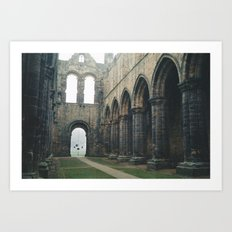 Gloomy Abbey Art Print