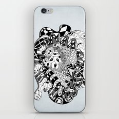 The heart of things iPhone & iPod Skin