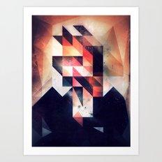 Mystyr Hyyd Art Print