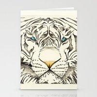 The White Tiger Stationery Cards