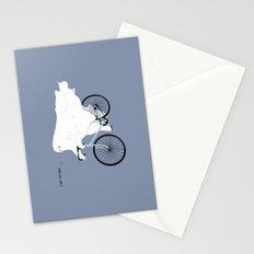 Negative Ghostrider. Stationery Cards