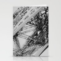 Eiffel Tower Close-up Stationery Cards