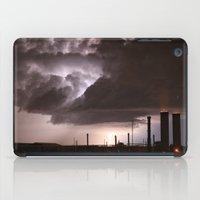 Industrial Spark iPad Case