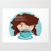 Deseos Mañaneros Art Print