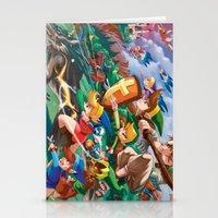 Zelda Mash Up Stationery Cards