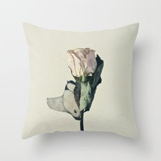 flowerbird Throw Pillow