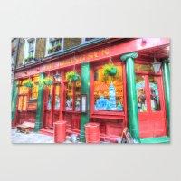 The Rising Sun Pub Londo… Canvas Print