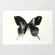 A BUTTERFLY. Art Print