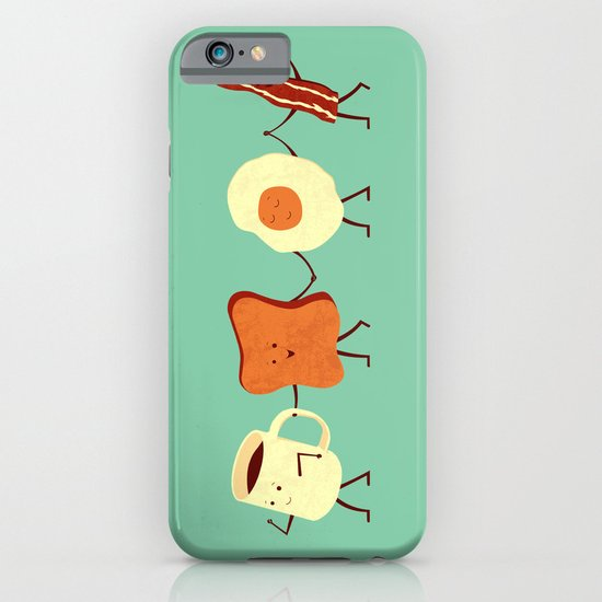 Let's All Go And Have Breakfast iPhone & iPod Case