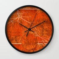 Orange Mood Wall Clock