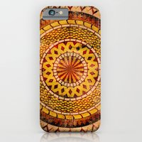 iPhone & iPod Case featuring Four Dragons Mandala by rollerpimp