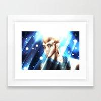 Are You The Light Framed Art Print