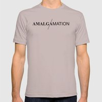 Amalgamation #6 Mens Fitted Tee Cinder SMALL