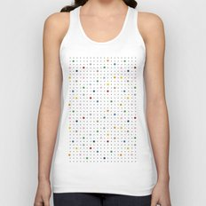 Pin Points Repeat Unisex Tank Top