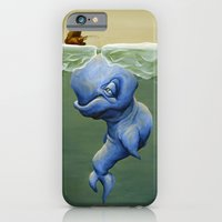 iPhone & iPod Case featuring This One's About Greed by Brian DeYoung Illustration