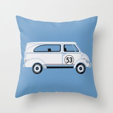Herb The Love Van Throw Pillow