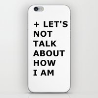 Let's not  iPhone & iPod Skin