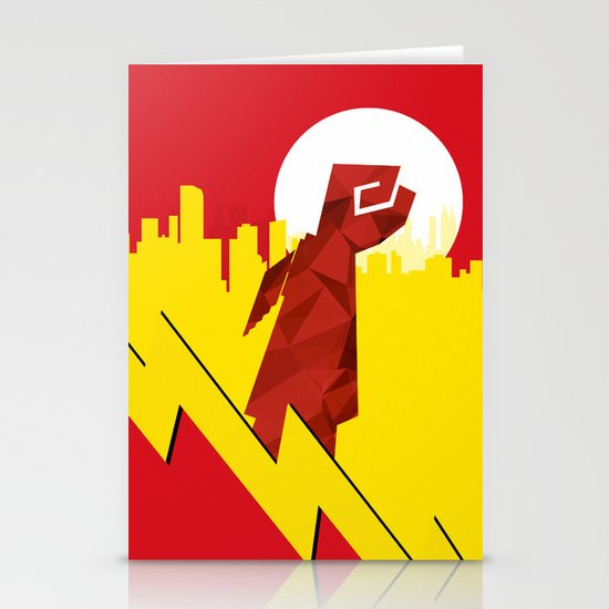 Polygon Heroes Rise 4 Stationery Card