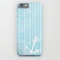 Anchor in Blue iPhone 6 Slim Case