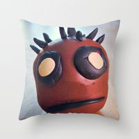 Darth Dain Throw Pillow