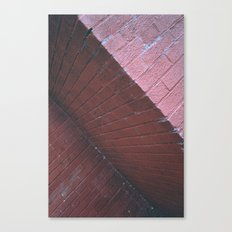red shapes Canvas Print